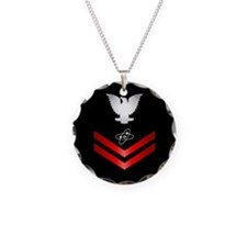 Navy PO2 Electronics Technician Necklace