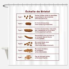 Échelle de Bristol Shower Curtain