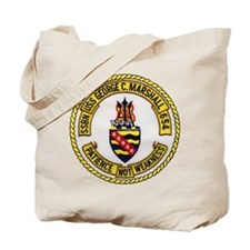USS GEORGE C. MARSHALL Tote Bag