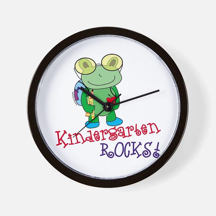 Kindergarten Wall Clock