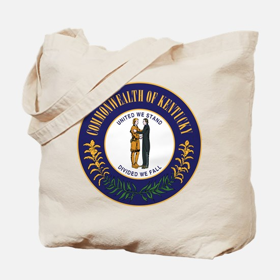Kentucky State Seal Tote Bag