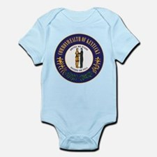 Kentucky State Seal Infant Bodysuit