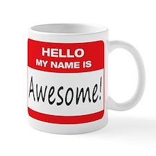Awesome Name Tag Mug
