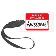 Awesome Name Tag Luggage Tag