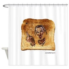 Miracle Toast Shower Curtain