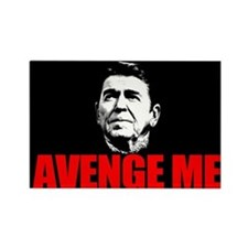Reagan - Avenge Me Rectangle Magnet