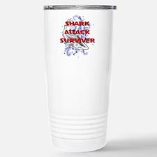 MT - Shark Attack Surviver - FINAL.png Travel Mug
