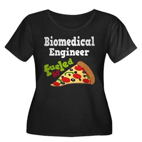 Biomedical Engineer Funny Pizza Women's Plus Size