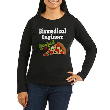 Biomedical Engineer Funny Pizza Women's Long Sleev