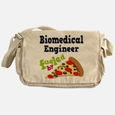 Biomedical Engineer Funny Pizza Messenger Bag