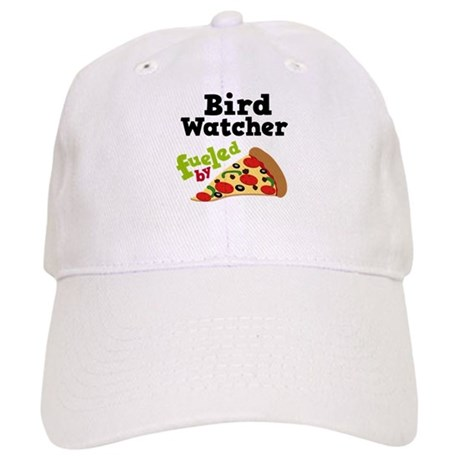 Bird Watcher Funny Pizza Cap