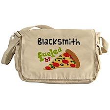 Blacksmith Funny Pizza Messenger Bag