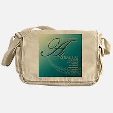 Star Struck Aquarius Messenger Bag