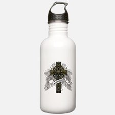 Campbell Tartan Cross Water Bottle