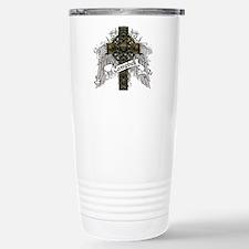 Campbell Tartan Cross Stainless Steel Travel Mug