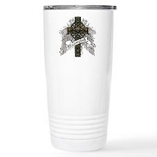 Campbell Tartan Cross Travel Mug