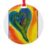 Bright Valentine Round Ornament