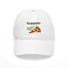 Bookkeeper Funny Pizza Baseball Cap