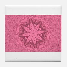 Sand Blossom Tile Coaster