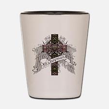 Chapman Tartan Cross Shot Glass