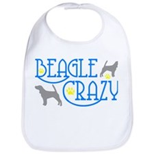 BEAGLE CRAZY Bib