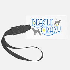 BEAGLE CRAZY Luggage Tag