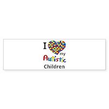 Autistic Children Bumper Sticker