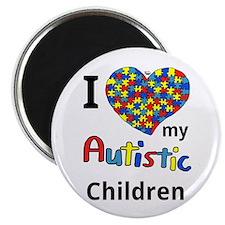 Autistic Children Magnet