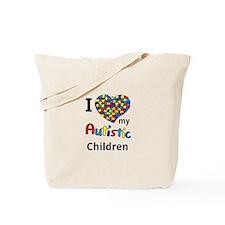 Autistic Children Tote Bag
