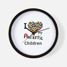Autistic Children Wall Clock