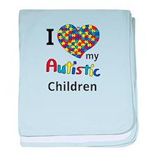 Autistic Children baby blanket