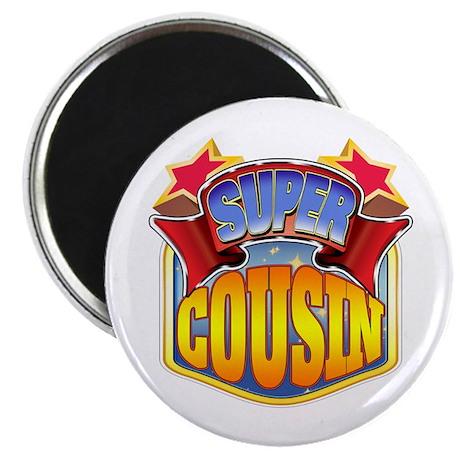 Super Cousin Magnet