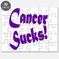 Cancer Sucks Purple! Puzzle