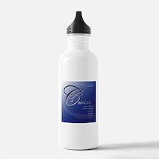 Star Struck Cancer Water Bottle