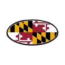 Maryland State Flag Patches