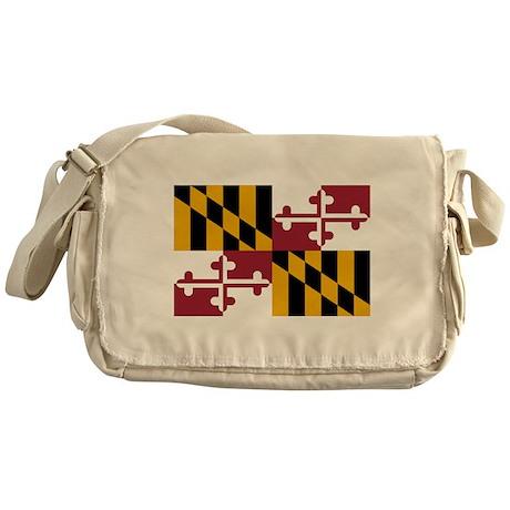 Maryland State Flag Messenger Bag