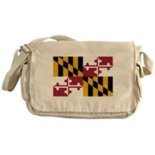 Maryland State Flag Messenger Bag
