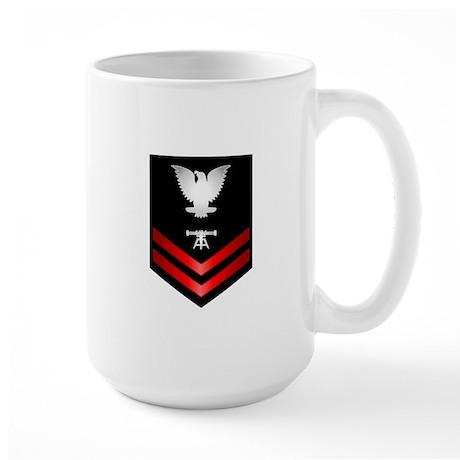 Navy PO2 Fire Control Technician Large Mug