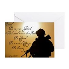 Stand Firm Be Counted Greeting Card