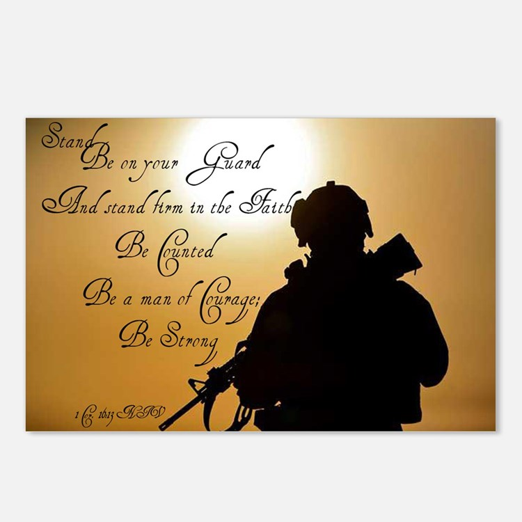 Stand Firm Be Counted Postcards (Package of 8)