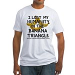 Fitted T-Shirt featuring Banana Triangle
