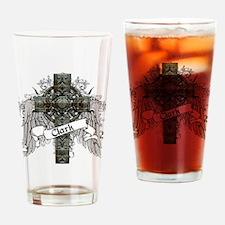 Clark Tartan Cross Drinking Glass