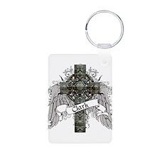 Clark Tartan Cross Keychains