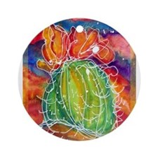 Cactus, Southwest art! Ornament (Round)