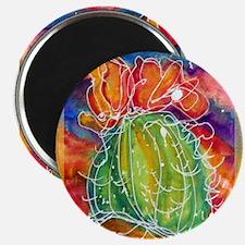 "Cactus, Southwest art! 2.25"" Magnet (10 pack)"
