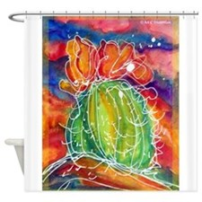 Cactus, Southwest art! Shower Curtain