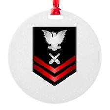 Navy PO2 Gunner's Mate Ornament
