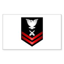 Navy PO2 Gunner's Mate Decal