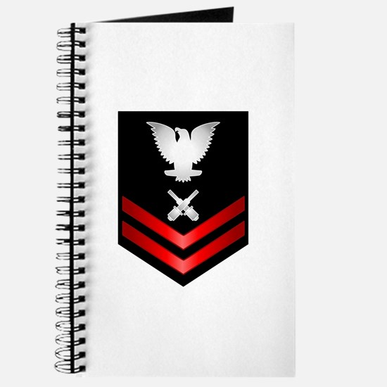 Navy PO2 Gunner's Mate Journal