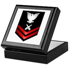 Navy PO2 Gunner's Mate Keepsake Box